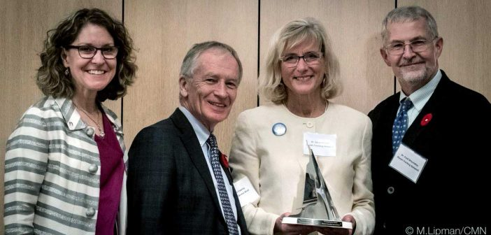 Ocean Tracking Network receives Museum of Nature Inspiration Award